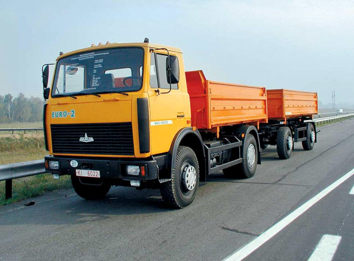 Самосвал МАЗ-555